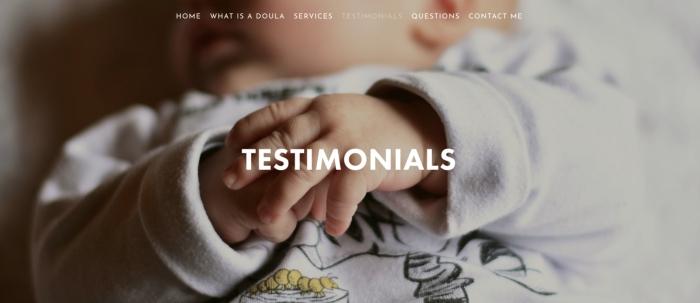 Doula website